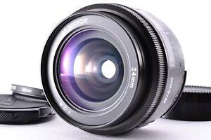 Mint Nikon AF Nikkor 24mm f/2.8 Lens Prime Auto Focus SLR Wide Angle Full Caps