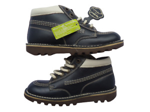 New Kickers for Joules casual kids shoes size 34 UK 2  Blue ankle boots