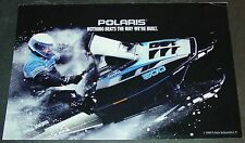 1989 POLARIS SNOWMOBILE SALES BROCHURE SKS INDY TRAIL SPORT CLASSIC (929)
