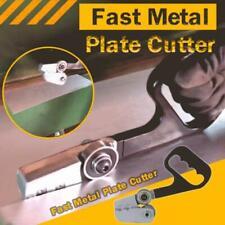 Fast Metal Plate Cutter Hand Drills Saw Shear Cutting Machine Dual Purpose Us