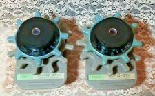 Lot of 2 Minolta Microfilm Microfiche Reader Zoom 13 - 27 x Lens Type 2