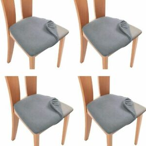 Seat Cushion Dining Chair Stretch Slipcovers Seat Covers Chair Cover Protector