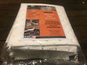 Akuna Absorbant Pads for Oil & Fuel Spills Pk 4 pads (AK1320AP)