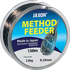 Angelschnur JAXON METHOD FEEDER 150m / 0,16-0,32mm Spule Monofile NEU&OVP