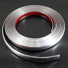 (1.4cm) 14mmx2.45m chrome styling moulage bande de garniture pour peugeot 208 304