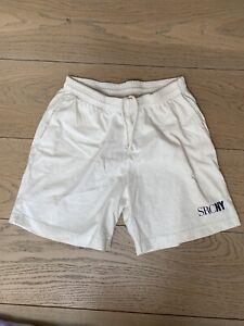 Sporty & Rich SRCNY White Sweat Shorts Size S Emily Oberg