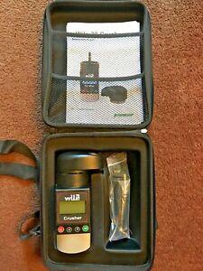 Wile 78 Crusher Moisture Meter for Grain Wheat Barley OSR Beans in own Case