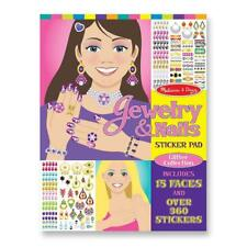 Melissa & Doug Jewelry & Nails Sticker Pad #4223