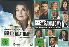 Grey's ( Greys ) Anatomy - Season/ Staffel 9, 10, 11 & 12 - Neu & OVP