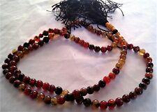 Aqiq/Haqeeq 99 Luxury Prayer Beads Islamic Muslim Tasbih/Tasbee/Rosary/Misbah