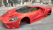 Custom Painted Body FORD GT for 1/10 RC Drift Cars Touring Traxxas 4-TEC 2.0