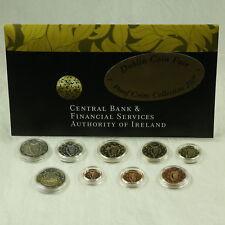 Irland KMS Münzen mit 2 Euro Gedenkmünze Römische Verträge 2007 proof PP Messe
