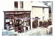 rp01650 - M J Sweet , Central Stores , Polgooth , Cornwall - photograph