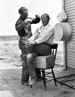 "1912 Home Barber Shop, Idaho Old Photo 8.5"" x 11"" Reprint"