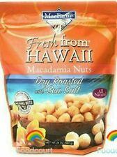 MacFarms Dry Roasted Macadamia Nuts With Sea Salt From Hawaii 24 oz