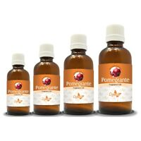100% NATURAL PURE  POMEGRANATE OIL CARRIER (Aromatherapy) from 15ML to 250ML