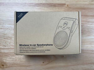 Wireless Bluetooth In Car Speakerphone Digital Black OPEN BOX