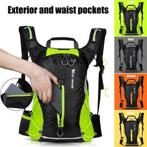 Sporting Backpack Water Bladder Bag Hydration Packs Rucksack Hiking Camping New