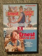 Ernest Goes To Camp/ Ernest Goes To Jail, Dvd, (Ex)/(Ex)