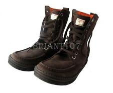 Nib Calvin Klein Jeans Mens Boots Shoes S1270  Size 13 Sean Oil Tumbled Leather
