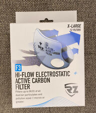 RZ F3 XL Hi-Flow Electrostatic Active Carbon Filters 12-PACK NEW IN BOX !!!