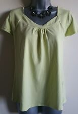 Size 18 Top M&S Yellow Casual Stretch Fitted Excellent Condition Women's