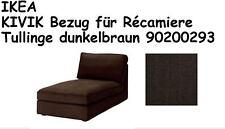 IKEA KIVIK RECAMIERE BEZUG TULLINGE dunkelbraun NEU+OVP! 90200293