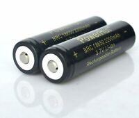 3.7V 18650 2200mAh Rechargeable Lithium-Ion Battery for LED Flashlight Torch