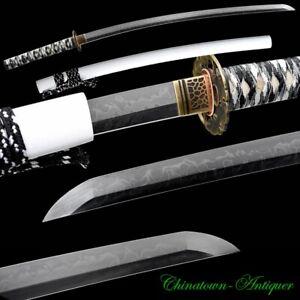 Japanese Masamune Samurai Sword Katana T10 Maru Hitatsura Blade Sashikomi #2835