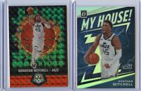 2019-20 Mosaic + Optic DONOVAN MITCHELL Green Jam Masters + Silver Holo My House