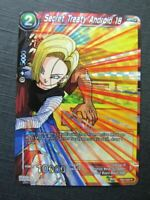 Secret Treaty Android 18 R - Dragon Ball Super Cards # 5G23