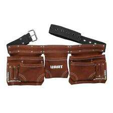Durable Heavy-Duty Leather Construction Tool Belt Metal Hammer Holder 52