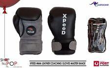 Zooboo 1 Pair Gloves Mittens Half-finger for Boxing Combat Sandbag Muay S2m N6l1