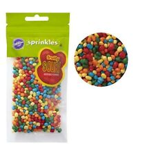 Rainbow Fruity Sours Sprinkles 3 oz from Wilton #7323 - NEW