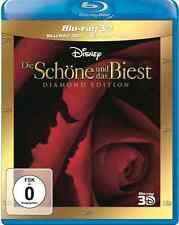 Blu-ray 3D - DIE SCHÖNE UND DAS BIEST - Diamond Edition  - Walt Disney - NEU+OVP