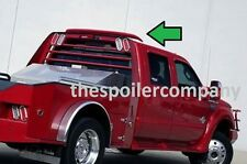UNPAINTED-PRIME  WESTERN-HAULER-STYLE CAB SPOILER  FOR 2009-2016 FORD SUPER DUTY