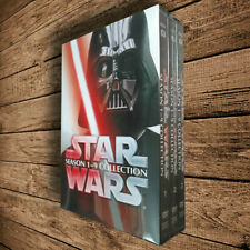 Star Wars Saga Movie Episodes Season 1-9 Complete dvd Collection 1-8+9 Brand New