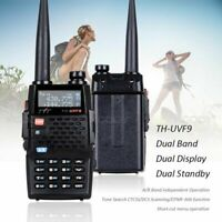 TYT TH-UVF9 Walkie Talkie Dual Band VHF/UHF With FM Radio CTCSS/DCS Car Charger