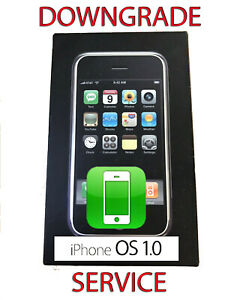 Apple iPhone 2G 1st Gen A1203 - DOWNGRADE SERVICE IOS 1 - COLLECTIBLE