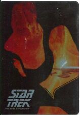 Star Trek TNG Portfolio Prints Series 2 Silhouette Chase Card SG4 Commander Will