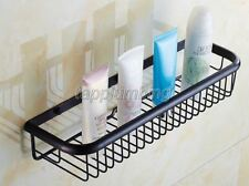 Bathroom Accessories Oil Rubbed Bronze Shower Shelf Rectangle a Basket tba064