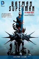 Batman/Superman Vol. 1: Cross World (The New 52) Pak, Greg LikeNew