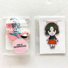 SM TOWN Coex Artium Official SM Artist Stationery SNSD Magnet + Taeyeon Bookmark