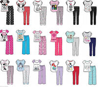 Ladies Character Pyjama Set Nightwear Pjs Novelty Disney Marvel Teddy Eeyore