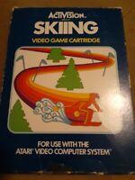 SKIING * Atari 2600 * CIB  Vintage *FREE SHIPPING