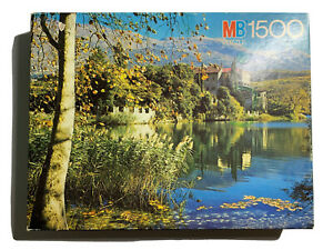 Vtg 1979 MB 1500 Oxford puzzle toblach castle, Italia 79x60cm