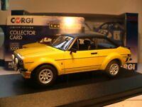 SUPERB NEW VANGUARDS 1/43 1976 FORD ESCORT MK2 RS MEXICO RHD TARMAC ARCHES NLA