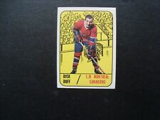 1967 Topps #2 Dick Duff - Montreal Canadiens - Exmnt