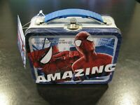 The Amazing Spider-Man Small Carry All Tin Tote Lunchbox NwT Marvel - SAVE BIG!
