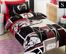 Star Wars Red/Black Patch Licensed SINGLE/TWIN Doona/Quilt Cover Set !!!